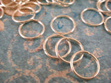 8mm Round Open Silver Plated Jump Rings