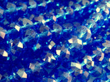 8x6mm Faceted Royal Blue Glass Beads
