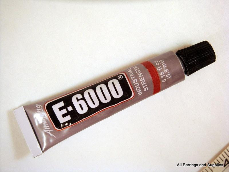 Adhesive, E6000 Jewelry and Craft Glue, .18 fl. oz (5.3 mL) - 1 piece - MS11037-AD1