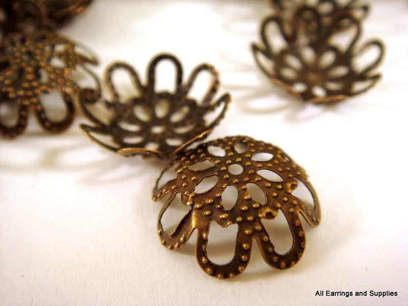 Antique Bronze Filigree