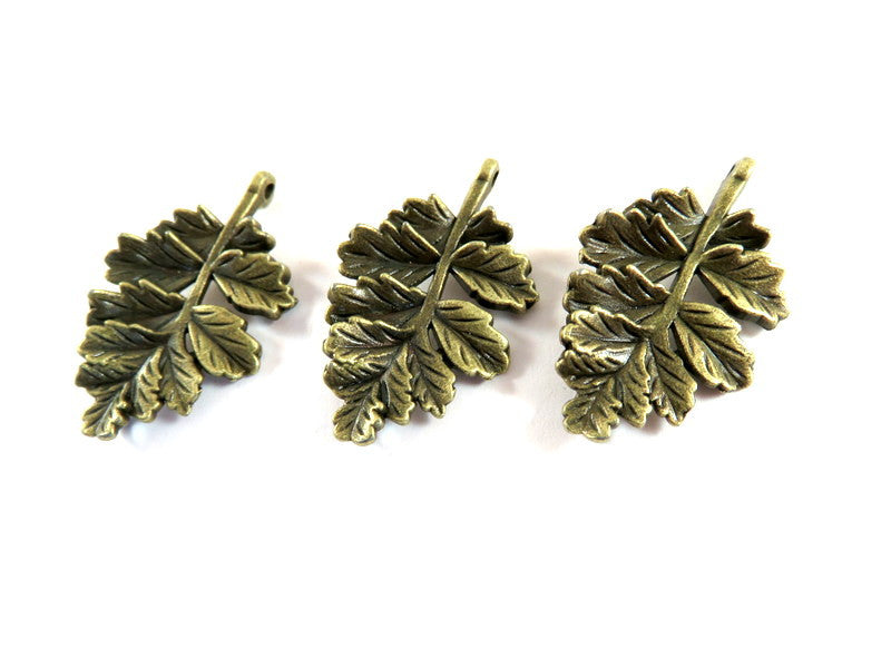 Antique Bronze Leaves