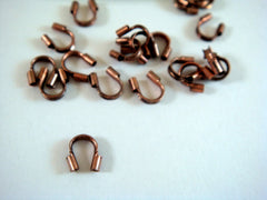 Antique Copper Beading Wire Savers