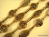 Antique Gold Fancy Filigree Chain