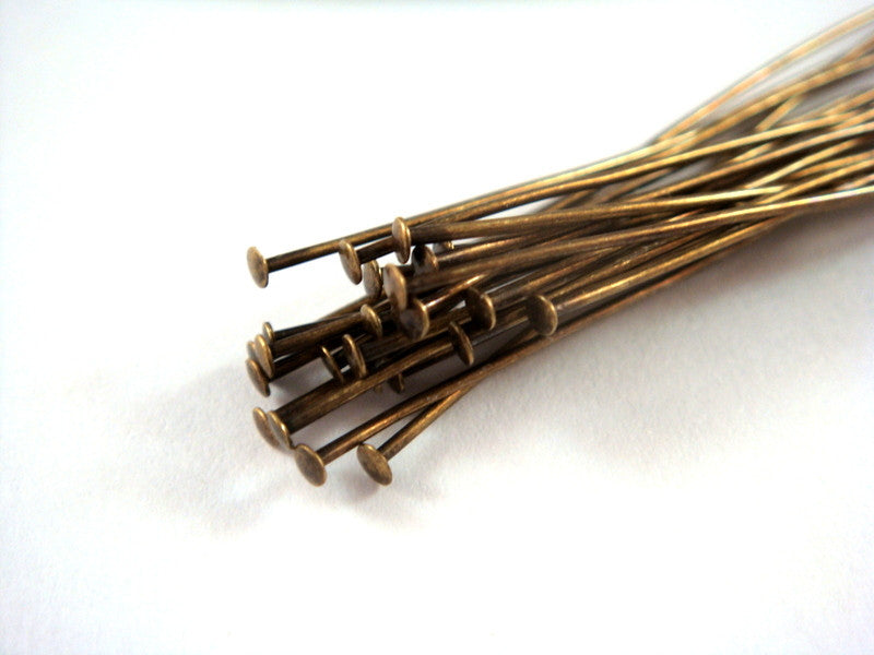 Antique Gold Headpins