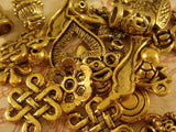 Antique Gold Jewelry Findings