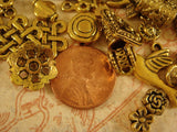 Antique Gold Jewelry Findings Assortment