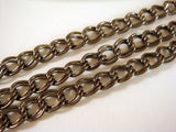 Black Double Link Chain