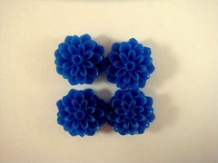 Blue Flower Cabochons