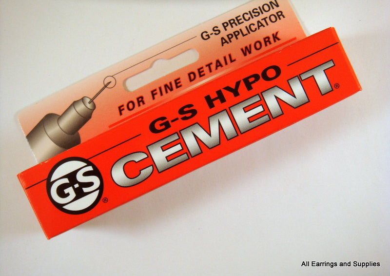 Adhesive, G-S Hypo Cement Jewelry and Craft Glue, 1/3 fl. oz. (9 mL) - 1 piece - MS11037-GSH1