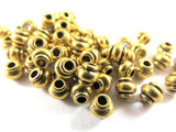 Gold Spacer Beads