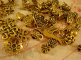 Grab Bag Antique Gold Jewelry Findings