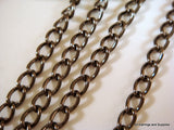 Gunmetal Plated Twist Chain