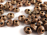 Metal Antique Copper Spacer Beads