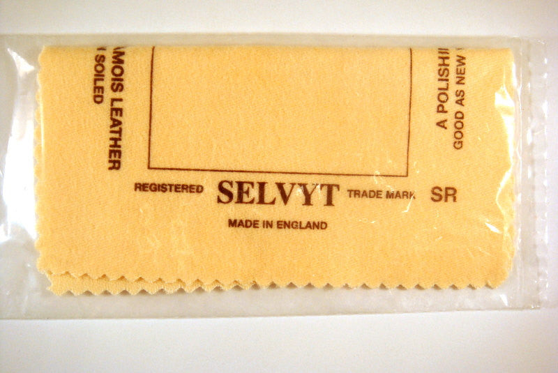 Tools: Selvyt Jewelry Polishing Cloth 5 x 5 in. - 1 pc. - MS11040-PC1
