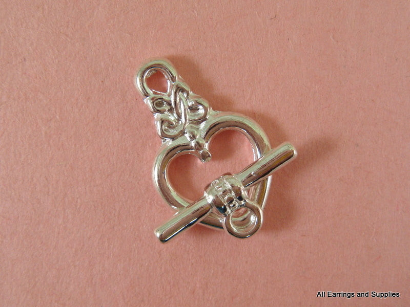 Silver Plated Jewelry Clasps