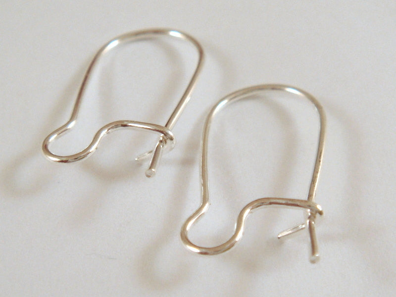 Silver Plated Kidney Wires