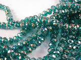 Teal Green Glass Beads