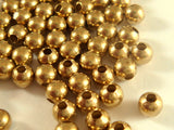 Unplated Brass Spacer Beads