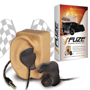 Ear Fuze Moldable Earphones