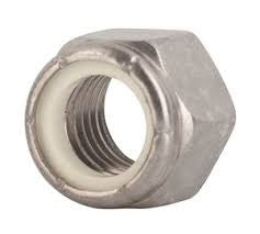 "1/4""-20 Nylon Lock Nuts-25pk"