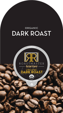 Roastmaster Reserve Organic Papua New Guinea Dark Roast Coffee Pods