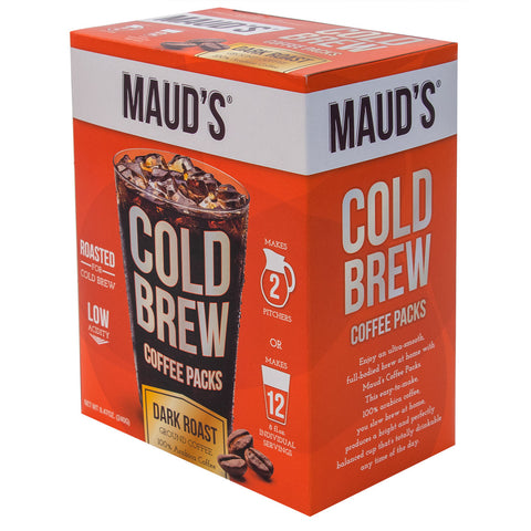 Maud's Cold Brew (Makes 2 Pitchers)