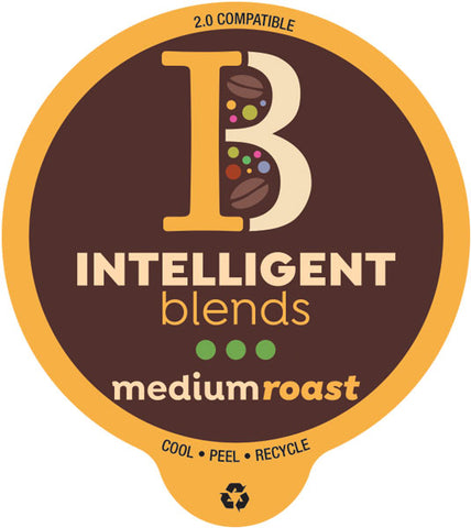 Intelligent Blends Medium Roast Coffee Pods – 100ct