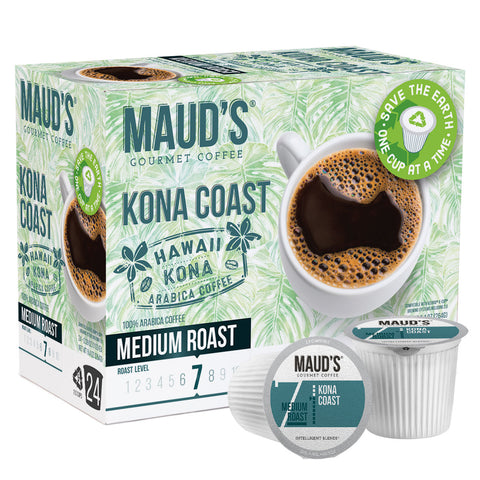 Kona Blend Coffee Pods 24ct