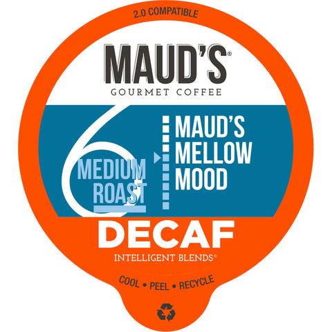 Maud's Mellow Mood Decaf Medium Roast Coffee Pods