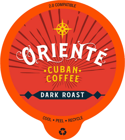 Oriente Cuban Dark Roast Coffee Pods