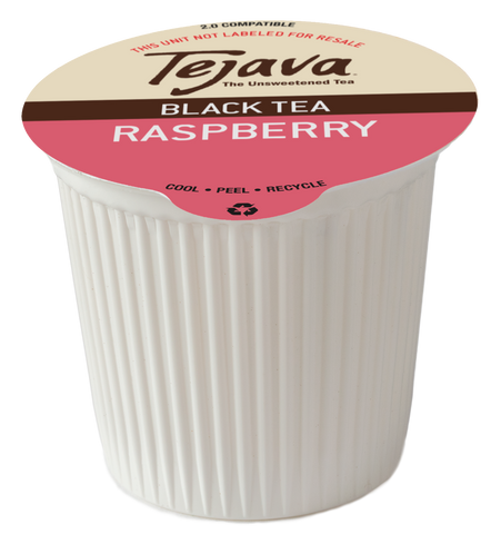 Tejava® Raspberry Black Tea Pods
