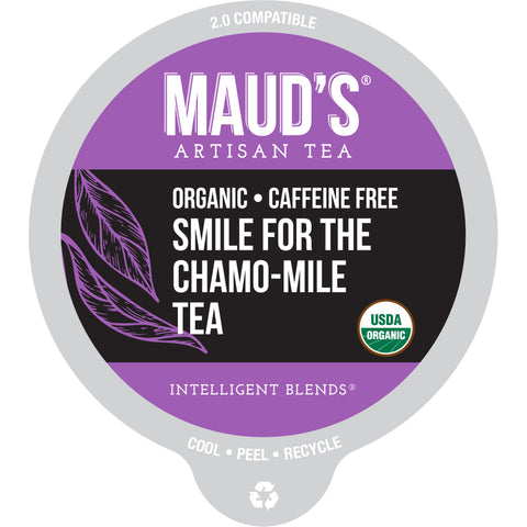 Maud's Organic Smile for the Chamo-mile Lavender Tea Pods