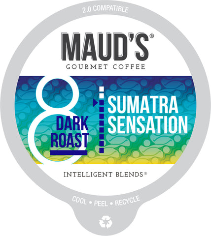 Maud's Sumatra Sensation Dark Roast Coffee Pods