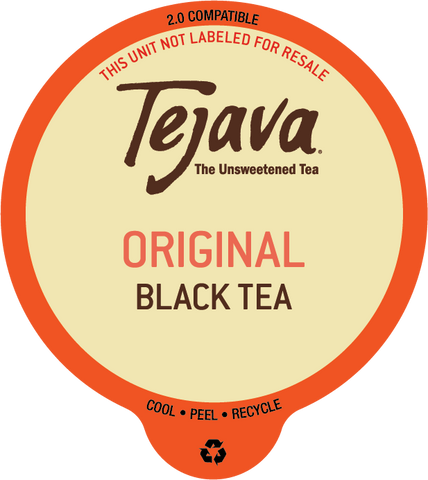 Tejava® Unsweetened Black Tea Pods