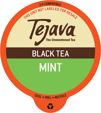 Tejava® Mint Black Tea Pods