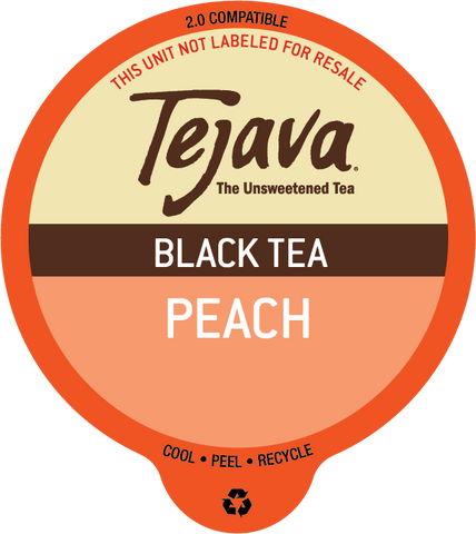 Tejava® Peach Black Tea Pods