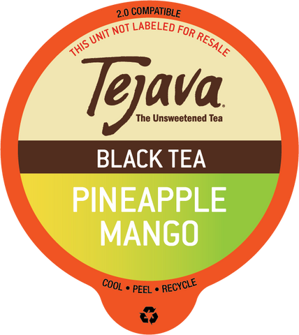 Tejava® Pineapple Mango Black Tea Pods