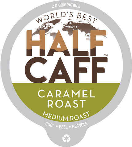 World's Best Half Caff™ Caramel Roast