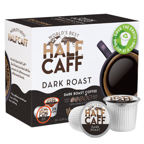 24 World's Best Half Caff™ Dark Roast