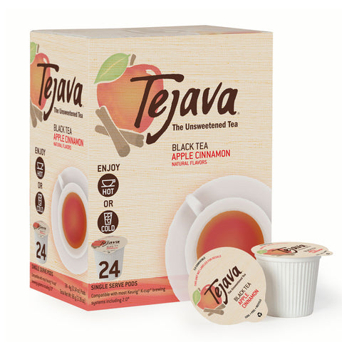 Tejava® Apple Cinnamon Black Tea Pods