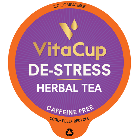 VitaCup Destress Tea Pods – 16ct