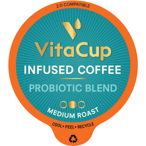 VitaCup Probiotic Blend Coffee Pods - 16ct