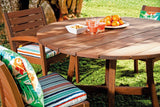 Vila Rica Round Dining Table - Walnut Stain FSC® 100%