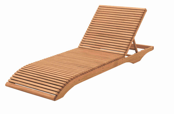 Ibiza Lounge Chair - Walnut Stain FSC® 100%