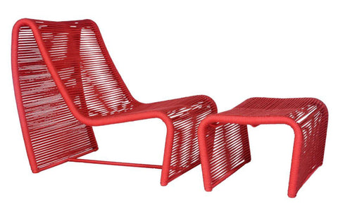 Pao de Acucar Rope Lounge Chair