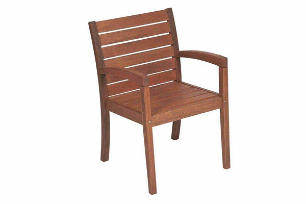 Vila Rica Dining Arm Chair - Walnut Stain FSC® 100%