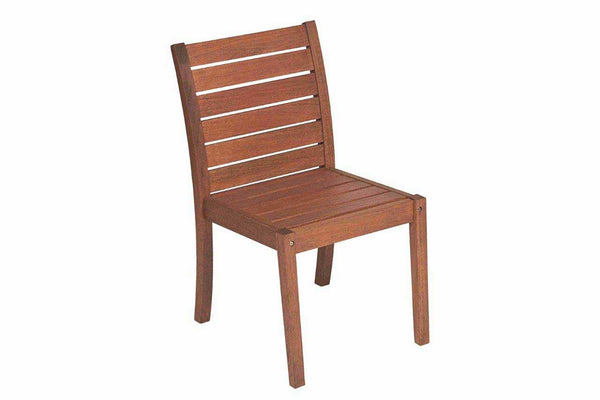 Vila Rica Dining Chair - w/o Arms - Walnut Stain FSC® 100%