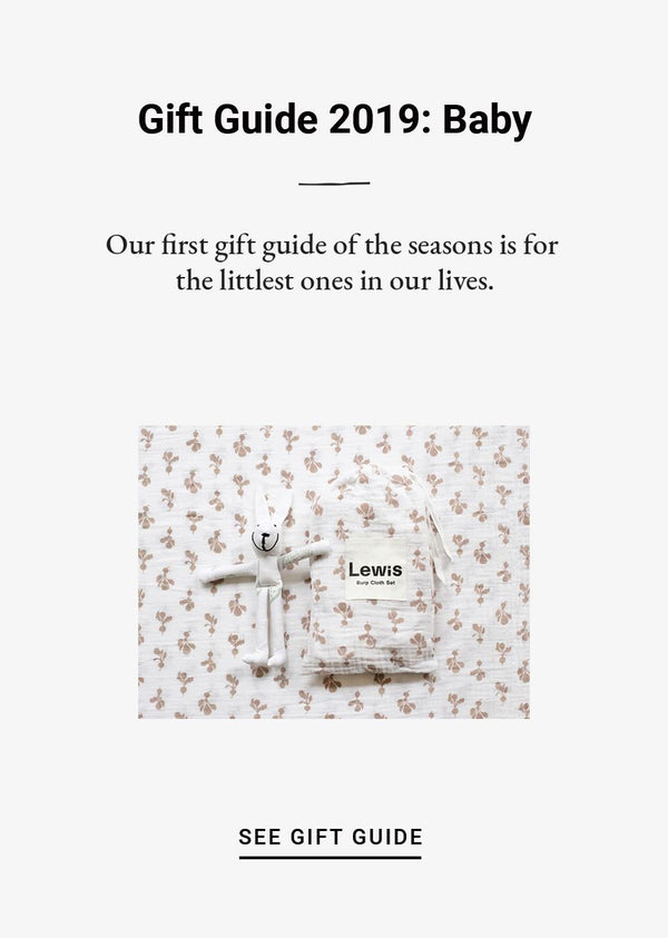 Gift Guide 2019: Baby