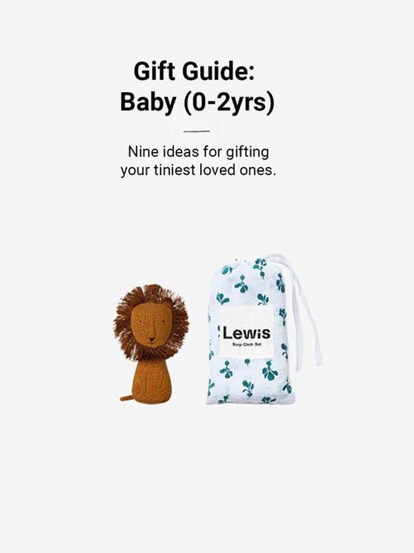 Gift Guide: Baby (0-2yrs)