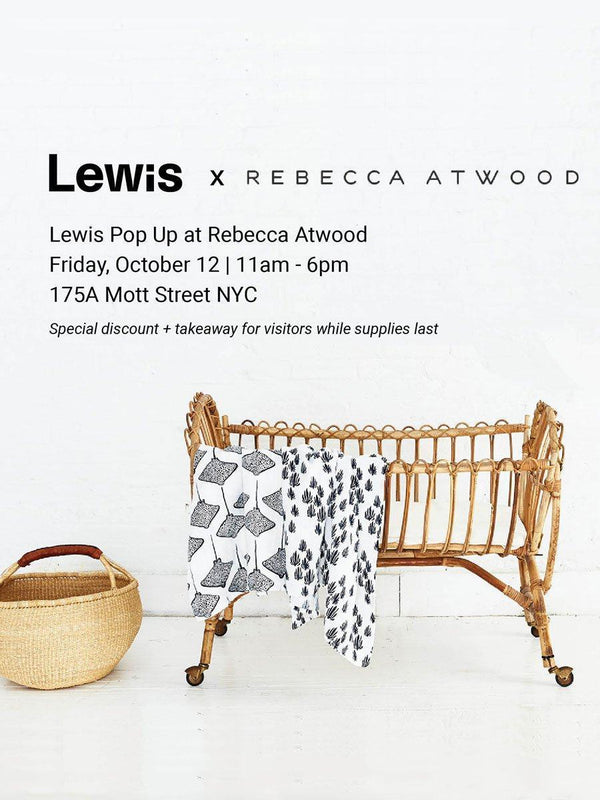 Lewis Pop Up at Rebecca Atwood